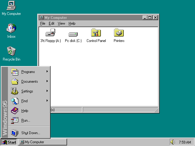 Opera windows 95 - 99a83
